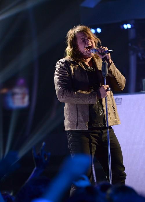 "Caleb Johnson American Idol ""Maybe I'm Amazed"" and ""Travelin Band"" Videos 5/7/14 #IdolTop4"