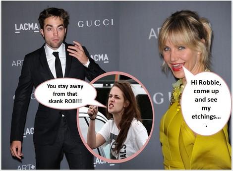 Cameron Diaz Wants Robert Pattinson - Watch Out Kristen Stewart!