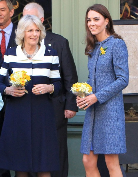 Camilla Parker-Bowles And Carole Middleton Fight Over Kate Middleton's Baby 1205