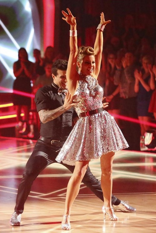 Candace Cameron Bure Dancing With the Stars Argentine Tango Video 4/28/14 #DWTS