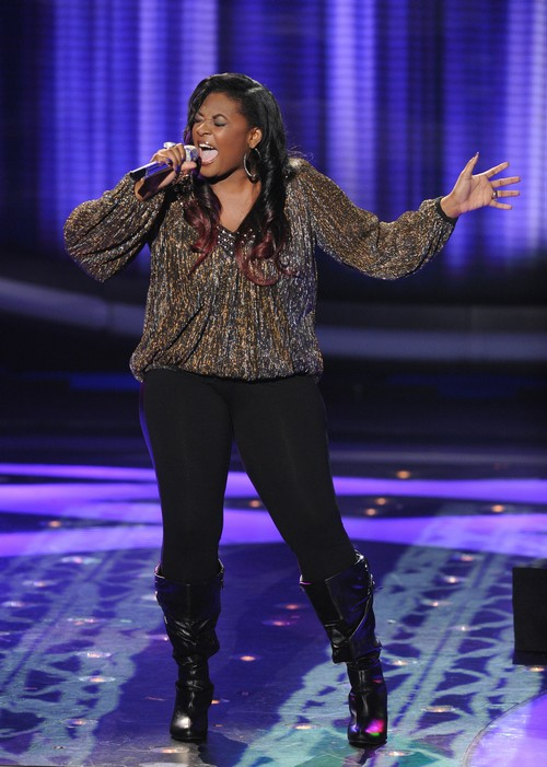 """Candice Glover American Idol """"Love Song"""" Video 4/10/13"""