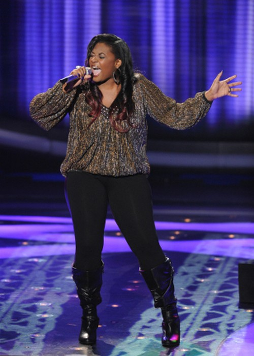 "Candice Glover American Idol ""(I Can't Get No) Satisfaction"" Video 4/3/13"