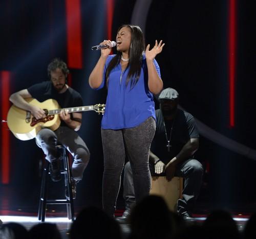 "Candice Glover American Idol ""Emotion"" Video 4/24/13"