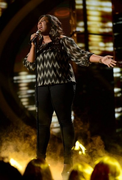 """Candice Glover American Idol """"When I Was Your Man"""" Video 5/1/13"""