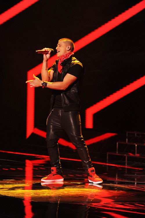 """Carlito Olivero The X Factor """"Stop In the Name Of Love"""" Video 11/6/13 #TheXFactorUSA"""