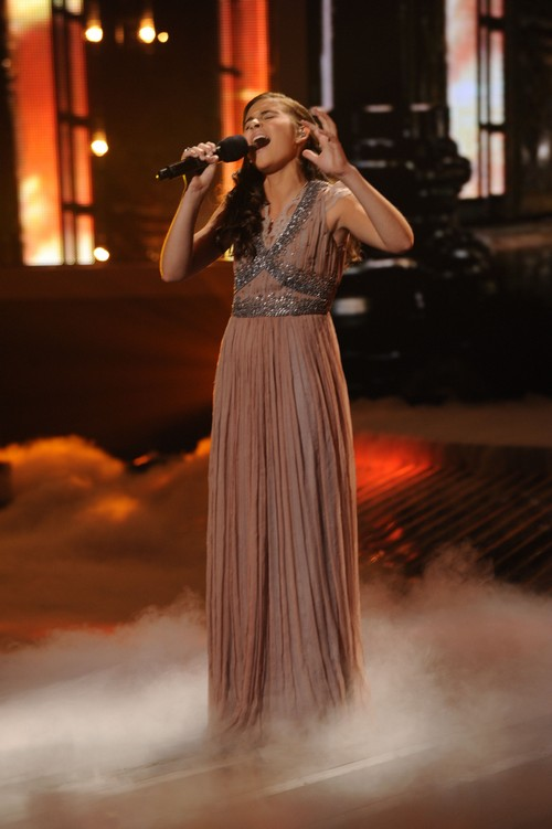"""Carly Rose Sonenclar The X Factor """"Somewhere Over The Rainbow"""" Video 11/21/12"""