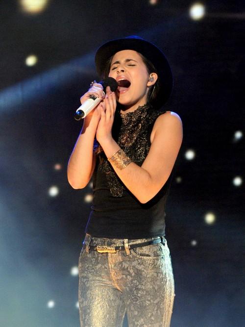 "Carly Rose Sonenclar Sings ""Hallelujah"" The X Factor 12/19/12 (Video)"
