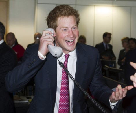 Prince Harry 'Carrie'd Away In Vegas! His Booty Call's Spilling All The Naked Details! 0902