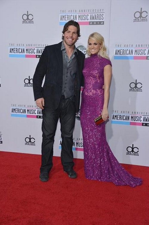 MIKE FISHER, CARRIE UNDERWOOD