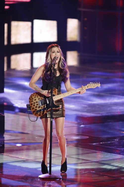 "Cassadee PopeThe Voice Top 10 ""Over You"" Video 11/19/12"