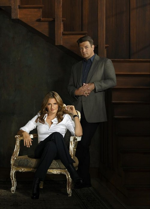 Nathan fillion and stana katic behind the scenes - photo#22