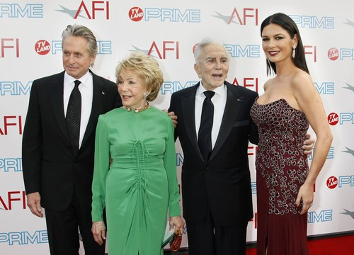 Michael Douglas and Catherine Zeta-Jones' Divorce Prevented by Kirk Douglas - Dying Father Begs Couple to Reconcile