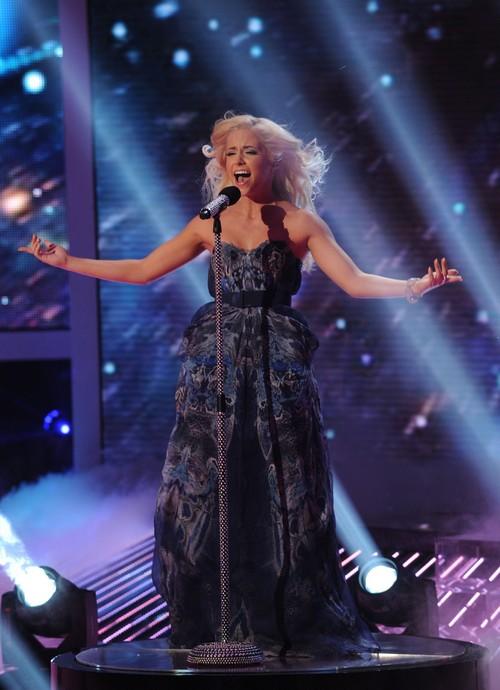 "Cece Frey The X Factor ""Wind Beneath My Wings"" Video 11/21/12"
