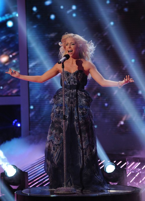 "Cece Frey The X Factor ""Wind Beneath My Wings"" Video 11/21/12"