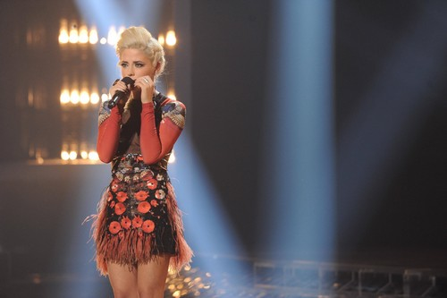 "CeCe Frey The X Factor ""Top 8"" Video 11/28/12"