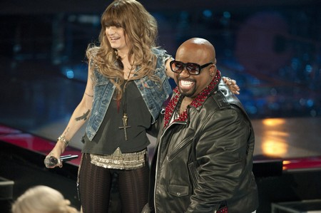 Juliet Simms & CeeLo Green The Voice 'Song Name' Performance Video 5/7/12