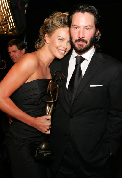 Theron And Keanu Reeves In Love And Dating Again?
