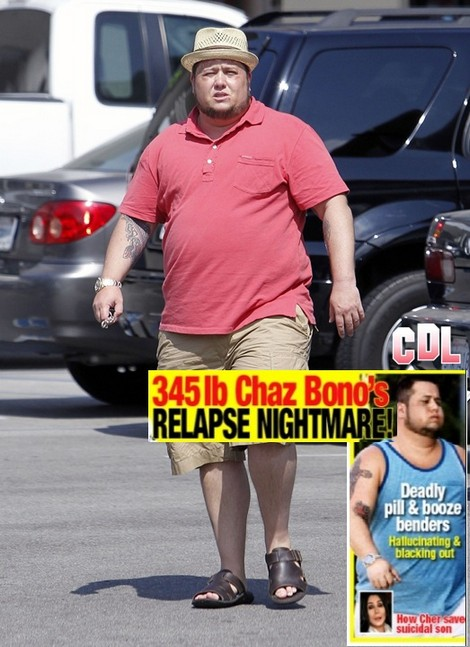 Report: Chaz Bono Relapses - Suicidal Pill and Booze Bender