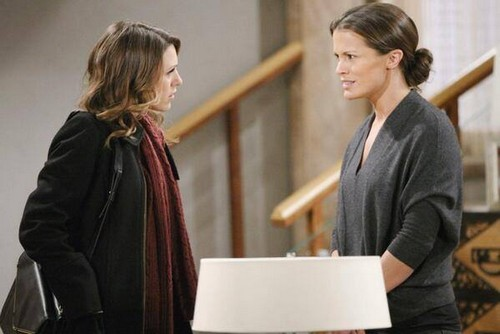 The Young and the Restless: Grief Stricken Chloe Mitchell Acting Crazy: Will She Hurt Chelsea to Get Her Son Connor?