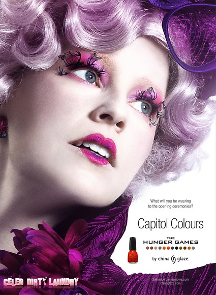 The Hunger Games Effie Trinket The Official 'Face' of China Glaze