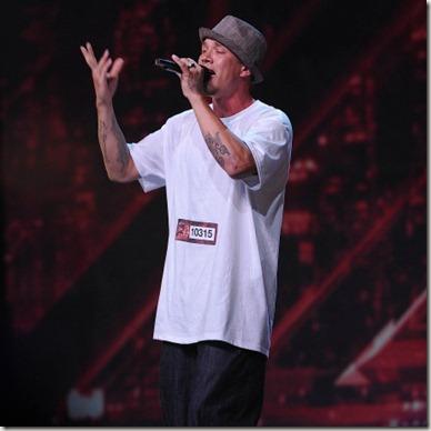 Chris Rene 'No One' The X Factor USA Performance Video 12/14/11