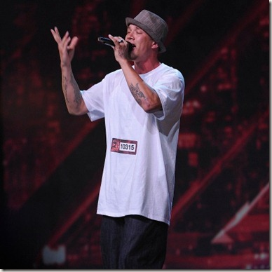 Chris Rene 'Young Homie' The X Factor USA Performance Video 12/21/11