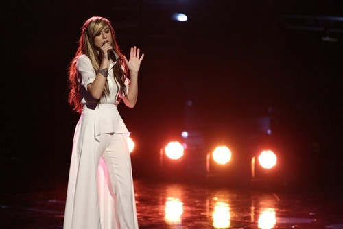 """Christina Grimmie and Adam Levine The Voice """"Somebody That I Used to Know"""" Video 5/19/14 #TheVoiceFinale"""