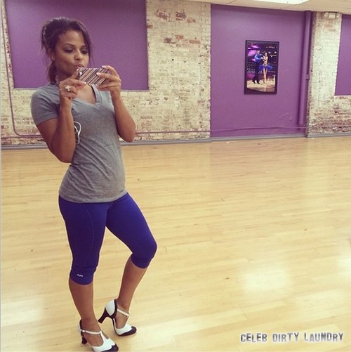 Christina Milian Dancing With the Stars Charleston Video 9/30/13