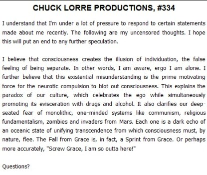 Chuck Lorre Attempts Vanity Card Response To Charlie Sheen