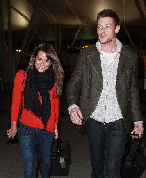 Lea Michele, Cory Monteith's Lover, Reacts To Rehab And Substance Abuse Issues (Photos) 0401