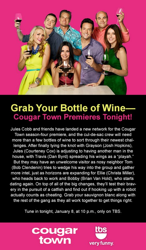 Cougar Town Premieres Tonight!