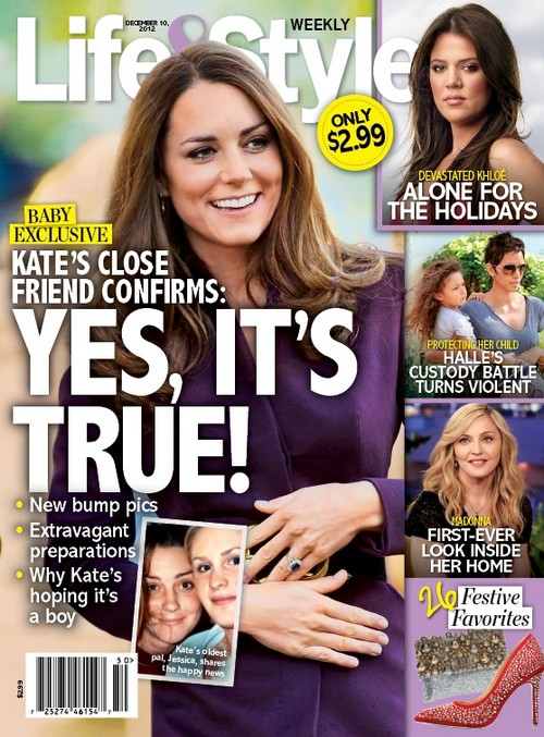 Confirmed: Kate Middleton Is Pregnant - Baby Bump Picture HERE!