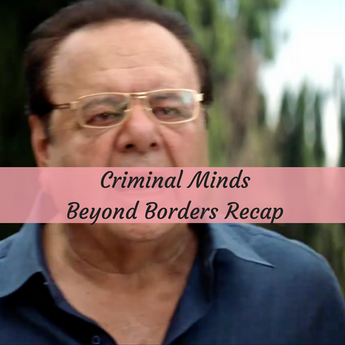criminal minds beyond borders recap premiere 3 16 16 season 1 episode 1 the harmful one. Black Bedroom Furniture Sets. Home Design Ideas