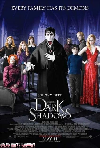 First Trailer For New Johnny Depp Movie Dark Shadows (Video)