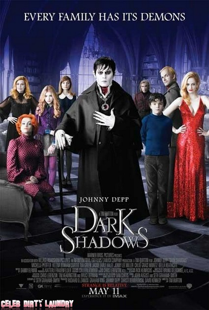 First Trailer For New Johnny Depp Movie Dark Shadows (Video)