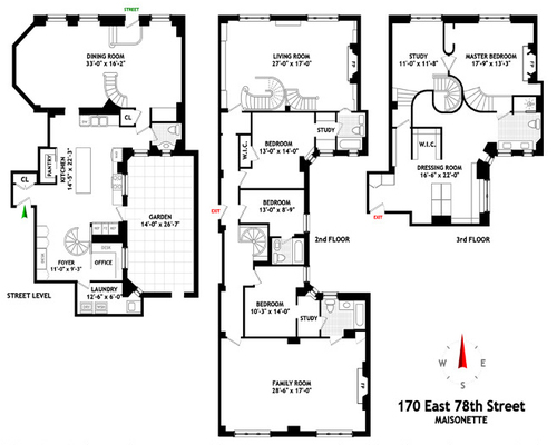 DD apartment floorplan