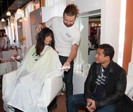 Dove Color Care Salon at Sundance Film Festival: A Behind the Scenes Look! (Photos)
