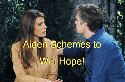 'Days of Our Lives' Spoilers: Hope Haunted by Murder, Puts Brakes on Romance – Nervous Aiden Texts Andre for Mission Updates