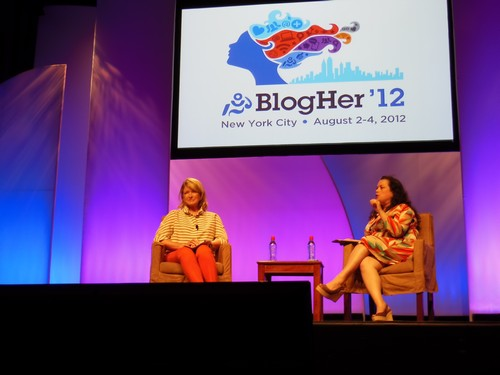 CDL at BlogHer 2012: Martha Stewart Chats About Creative Living and Social Networking (Video)