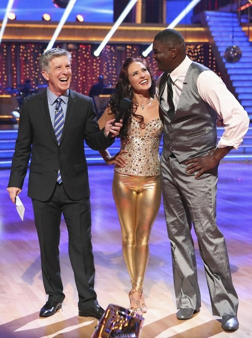 Keyshawn Johnson Dancing With the Stars Samba Video 9/23/13