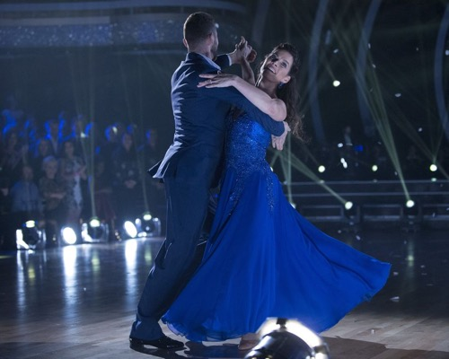 Nancy Kerrigan Dancing With The Stars Cha Cha Video Season 24 Episode 2 – 3/27/17 #DWTS