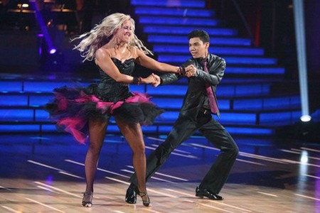 Roshon Fegan Dancing With The Stars Foxtrot Performance Video 5/7/12