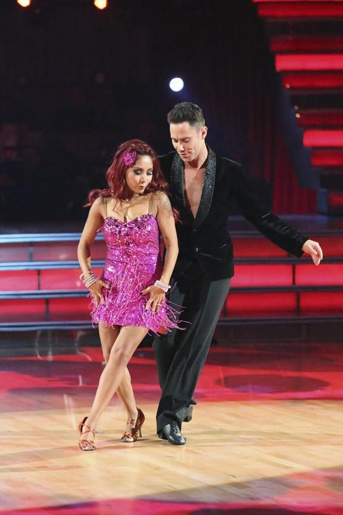 "Nicole ""Snooki"" Polizzi Dancing With the Stars Rumba Video 9/23/13"