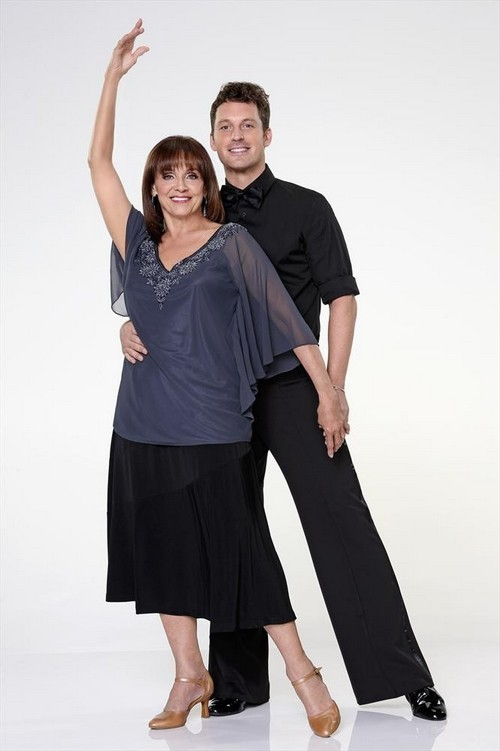 Valerie Harper Dancing With the Stars Foxtrot Video 9/16/13