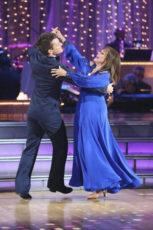 Valerie Harper Dancing With the Stars Paso Doble Video 9/23/13