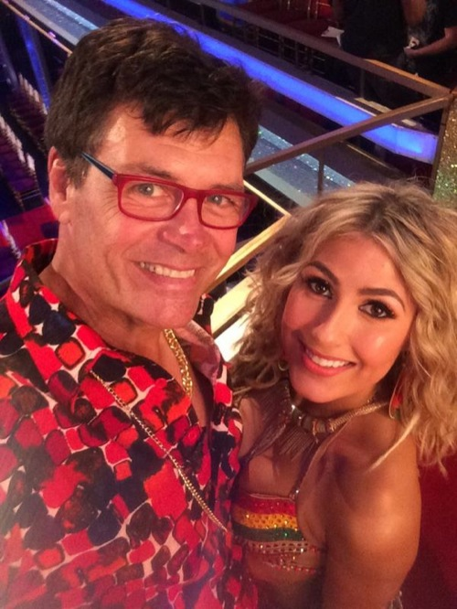 Michael Waltrip And Witney Carson Dancing With The Stars