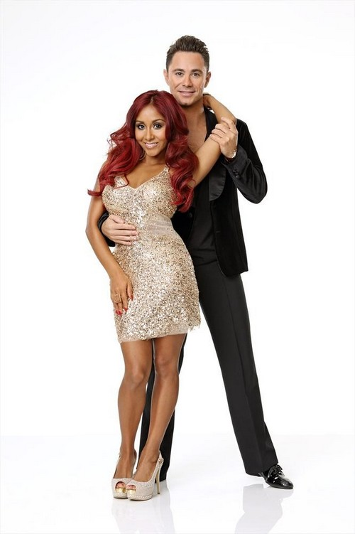 "Nicole ""Snooki"" Polizzi Dancing With the Stars Cha Cha Cha Video 9/16/13"