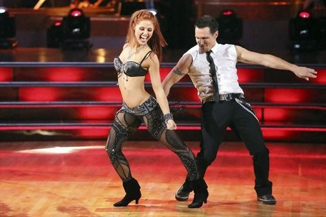Drew Lachey Dancing With the Stars All-Stars Cha Cha Cha Performance Video 10/8/12