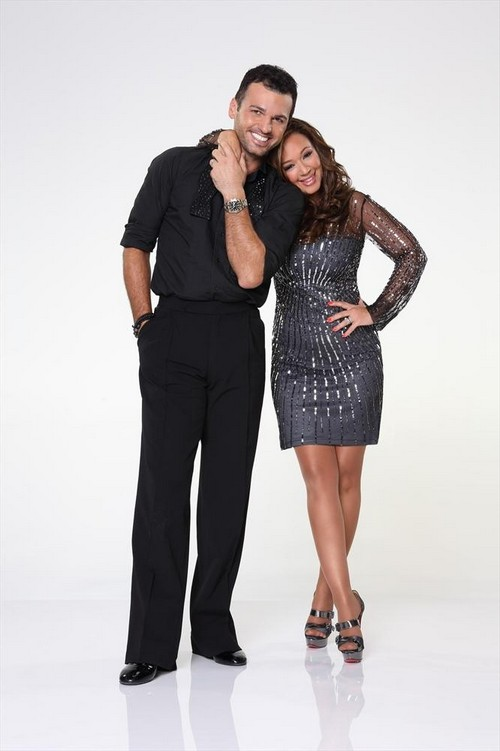 Leah Remini Dancing With the Stars Foxtrot Video 9/16/13
