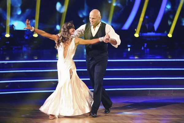 Randy Couture & Karina Smirnoff Cha Cha Cha Video Dancing With the Stars Season 19 Week 2 9/22/14 #DWTS